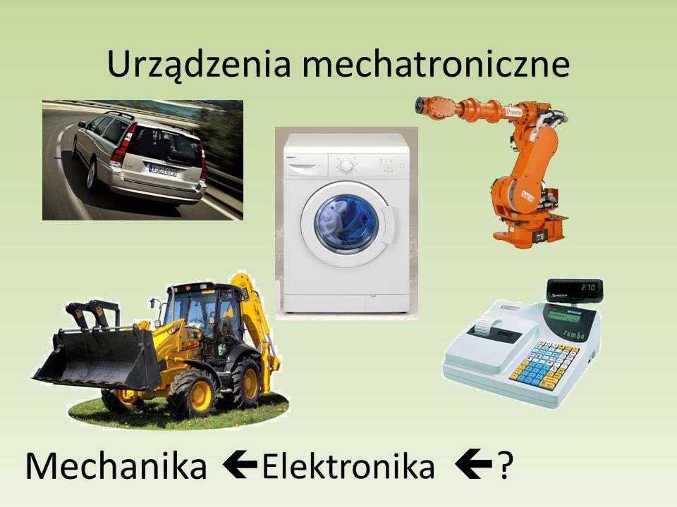 Urządzenia mechatroniczne