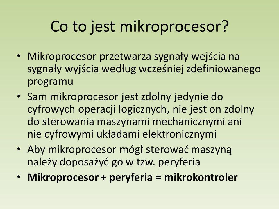 Co to jest mikroprocesor