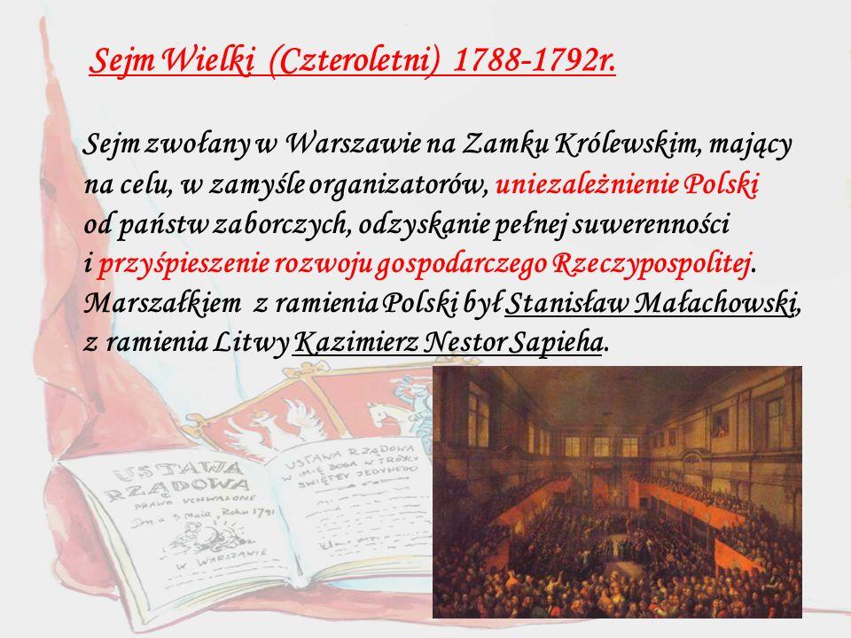Sejm Wielki (Czteroletni) 1788-1792r.