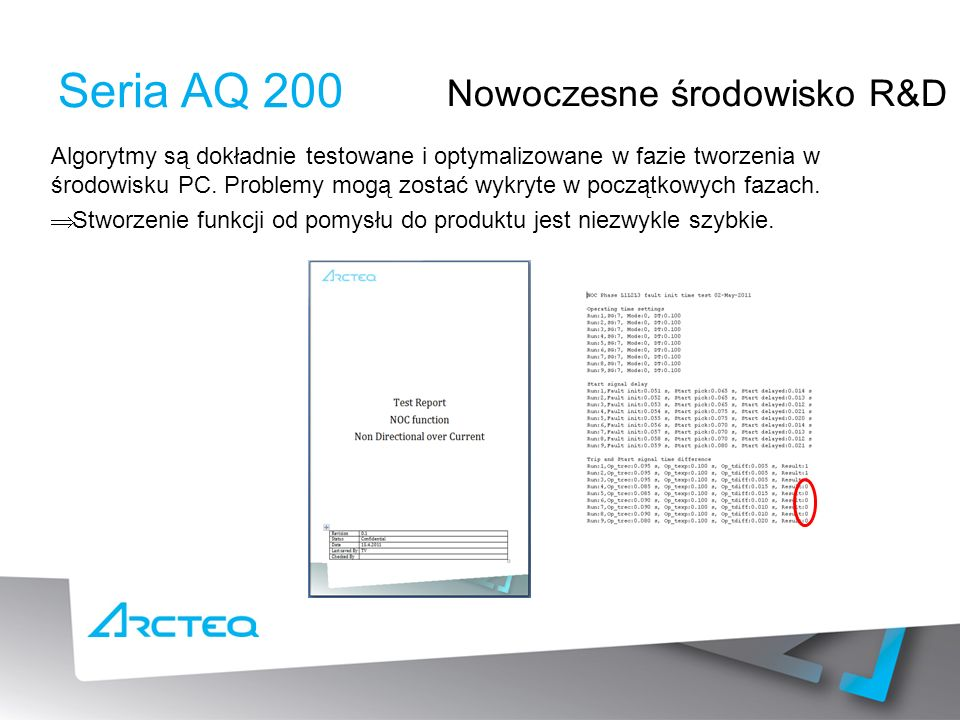 Seria AQ 200 Nowoczesne środowisko R&D
