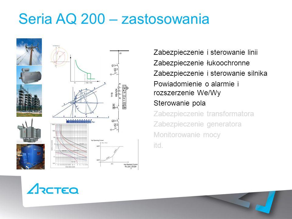 Seria AQ 200 – zastosowania