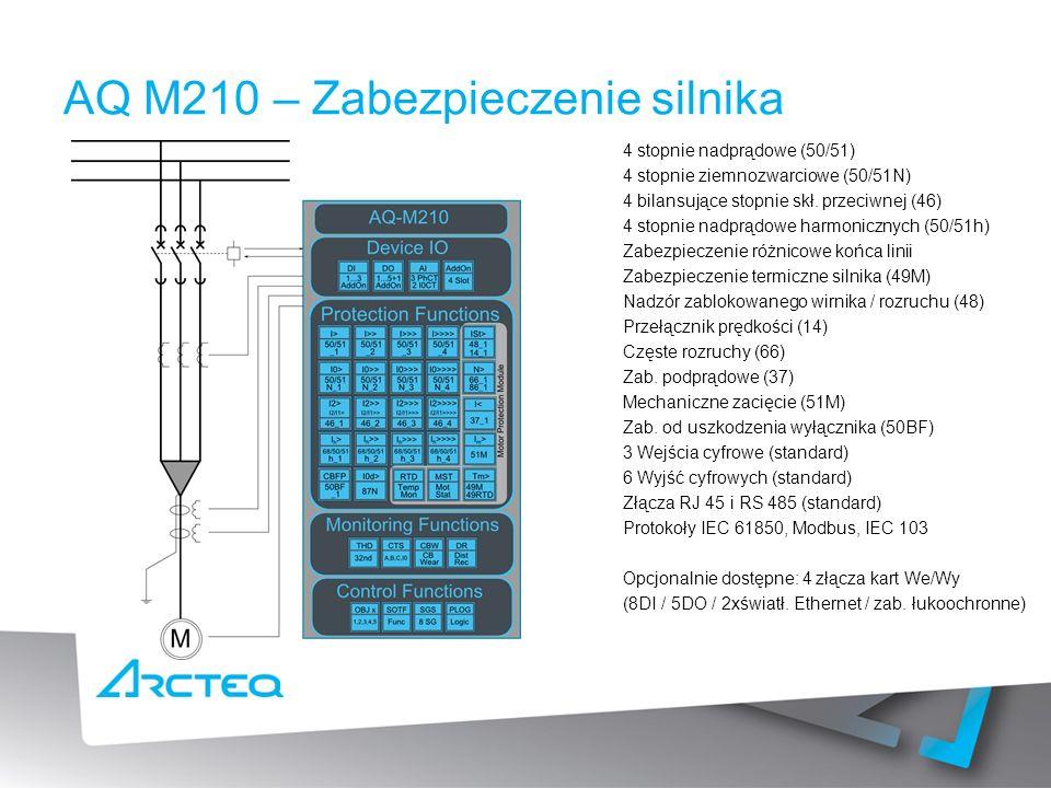 AQ M210 – Zabezpieczenie silnika