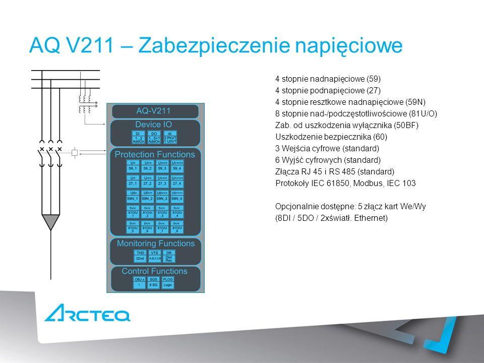 AQ V211 – Zabezpieczenie napięciowe