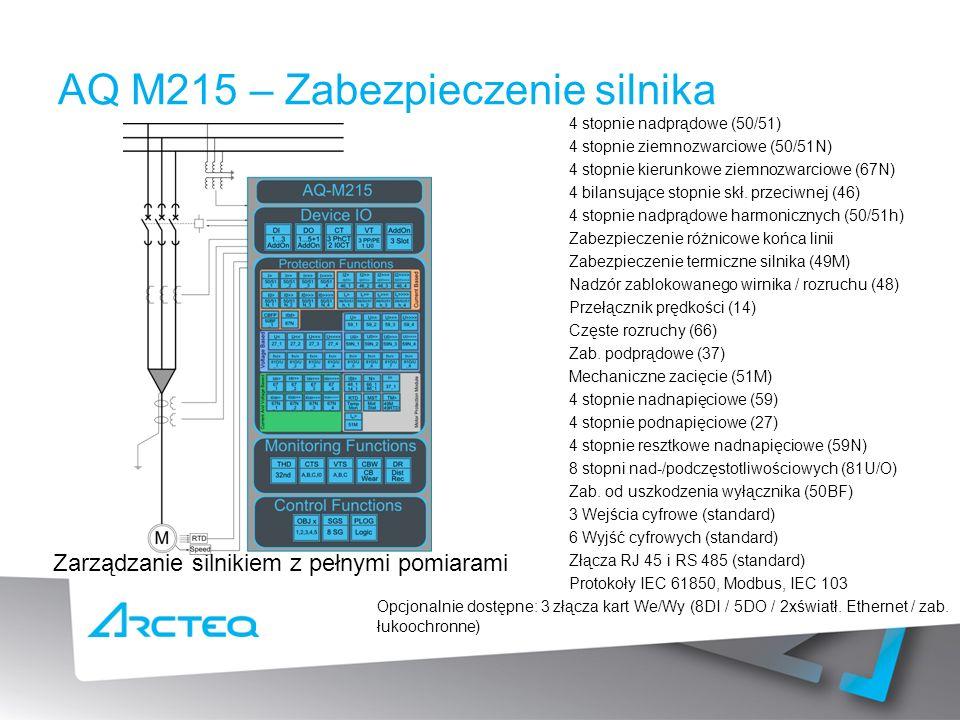 AQ M215 – Zabezpieczenie silnika