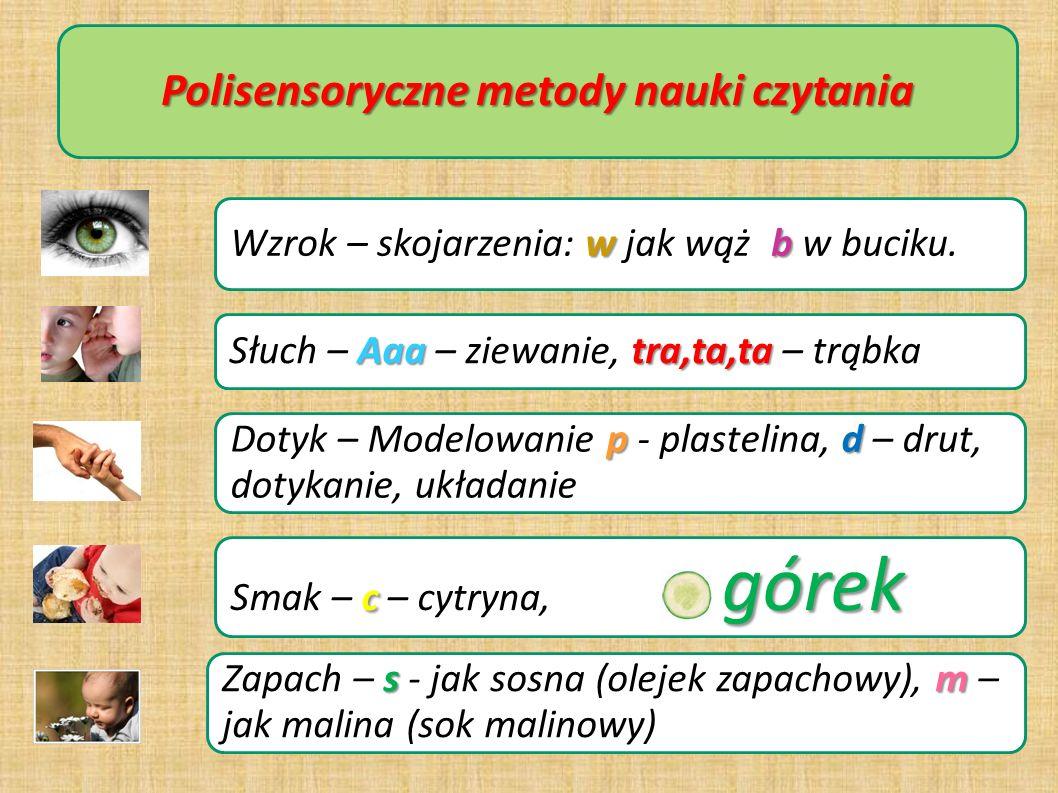 Polisensoryczne metody nauki czytania