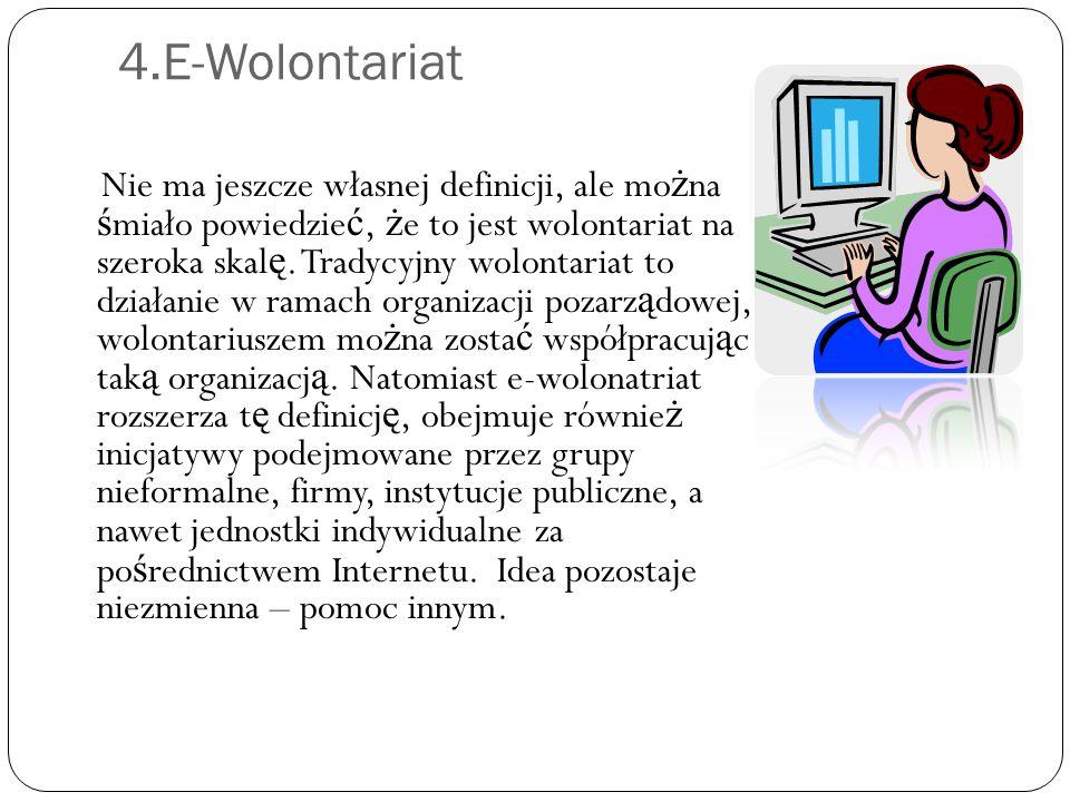 4.E-Wolontariat