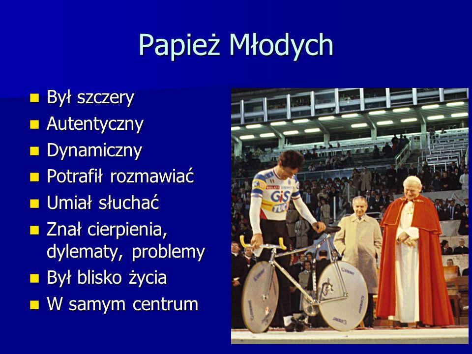 Papież Młodych Był szczery Autentyczny Dynamiczny Potrafił rozmawiać