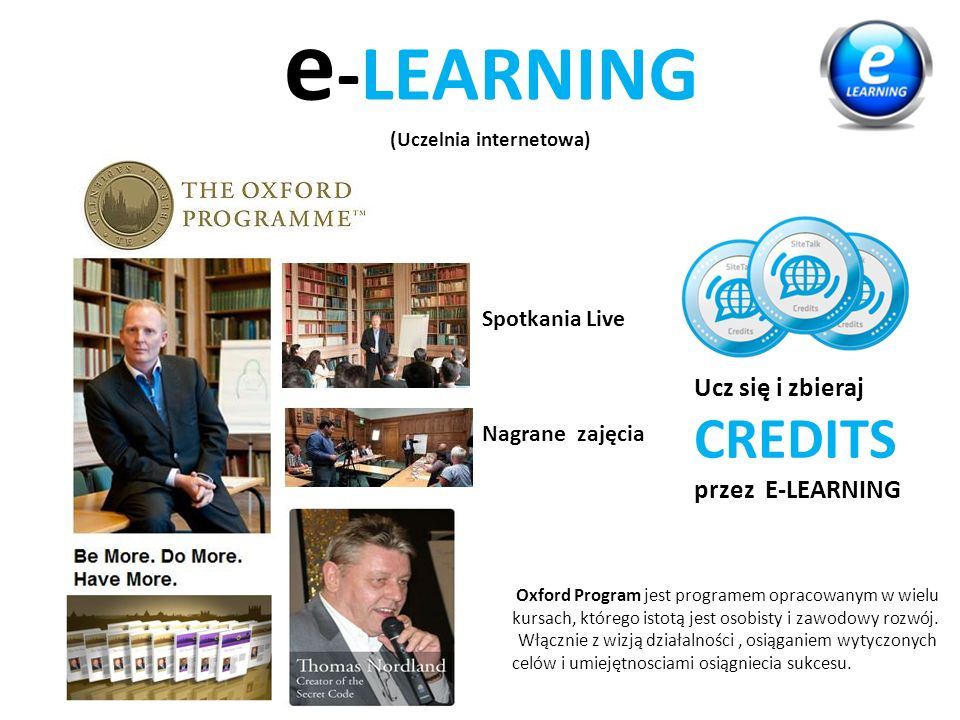 e-LEARNING (Uczelnia internetowa)