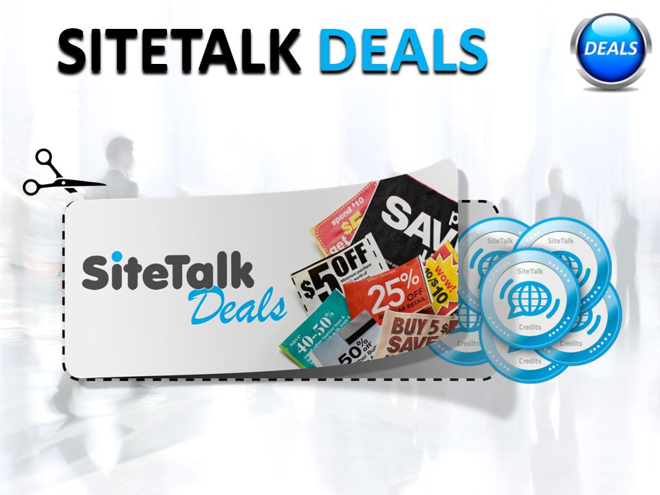 SITETALK DEALS