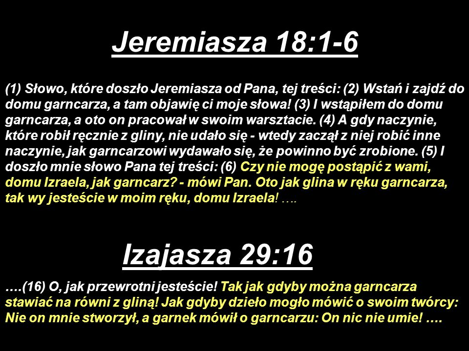 Jeremiasza 18:1-6