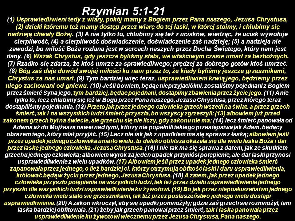 Rzymian 5:1-21