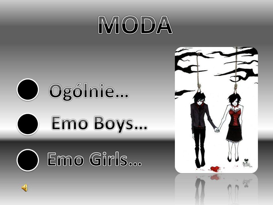 MODA Ogólnie… Emo Boys… Emo Girls…