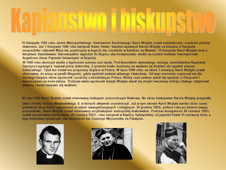 Kapłaństwo i biskupstwo
