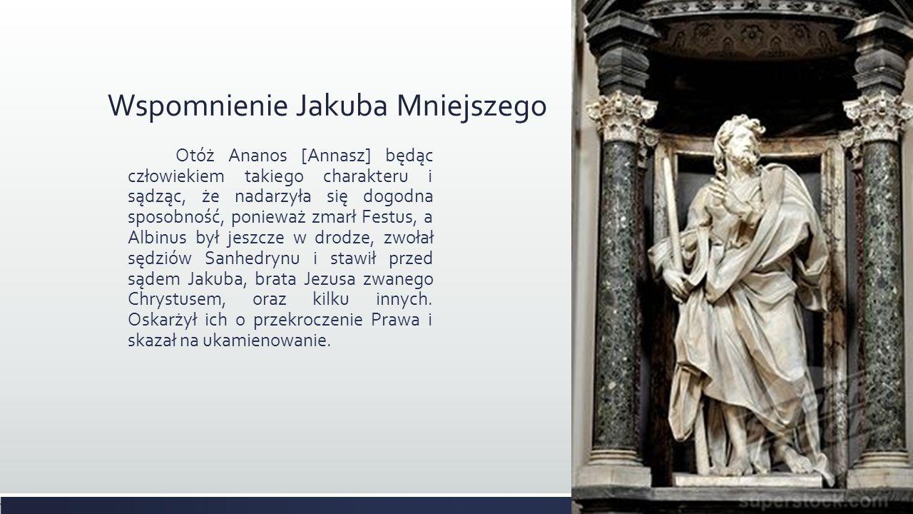 Wspomnienie Jakuba Mniejszego