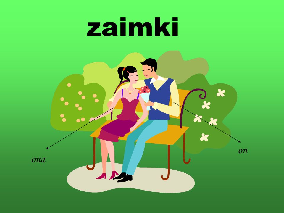 zaimki on ona