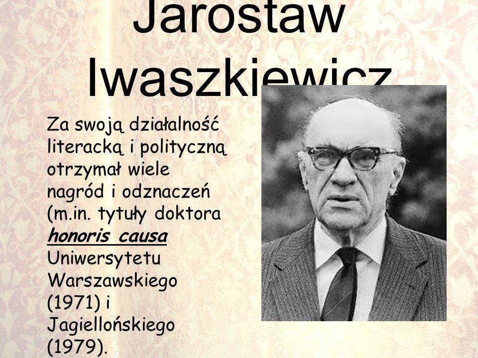 Jarostaw Iwaszkiewicz