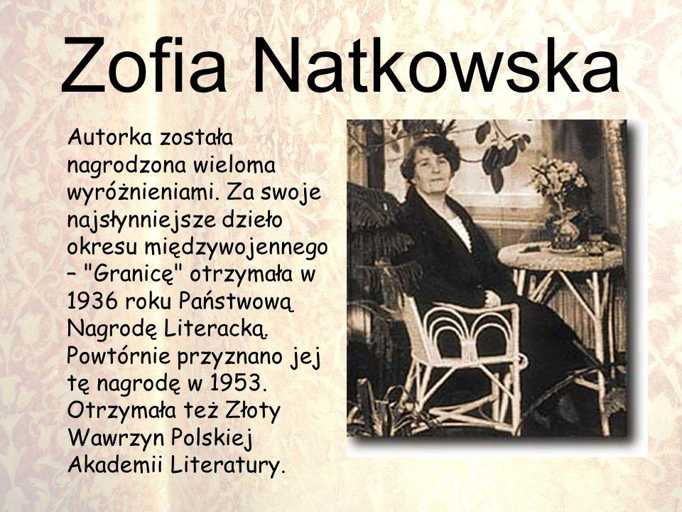 Zofia Natkowska