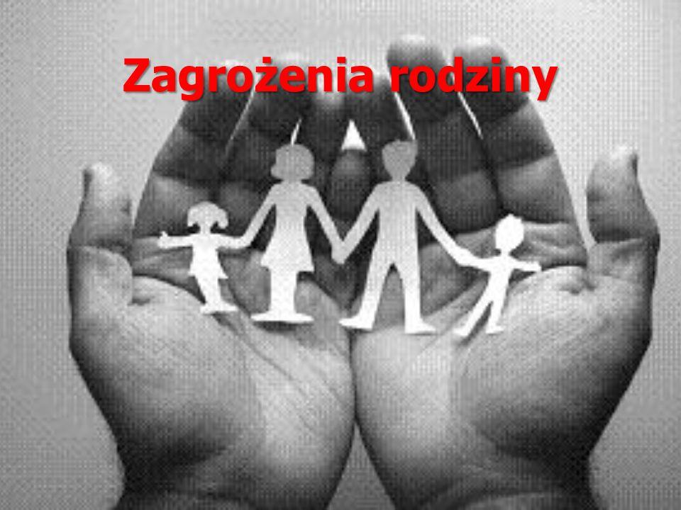 Zagrożenia rodziny
