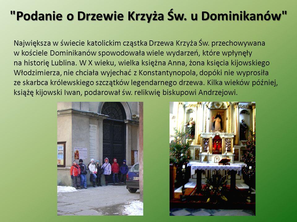 Podanie o Drzewie Krzyża Św. u Dominikanów