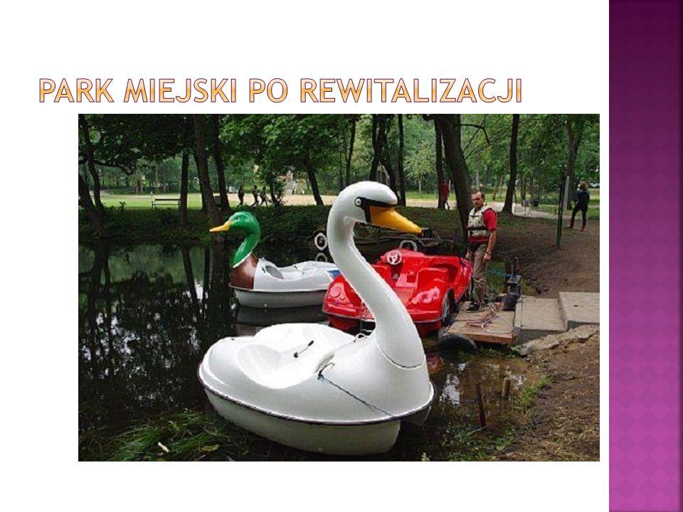 Park Miejski po REWITALIZACJI