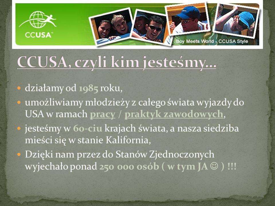 CCUSA, czyli kim jesteśmy…