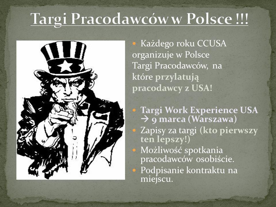 Targi Pracodawców w Polsce !!!