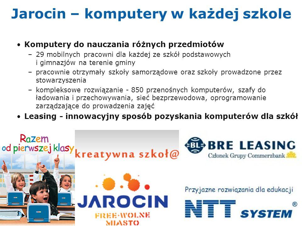 Jarocin – komputery w każdej szkole