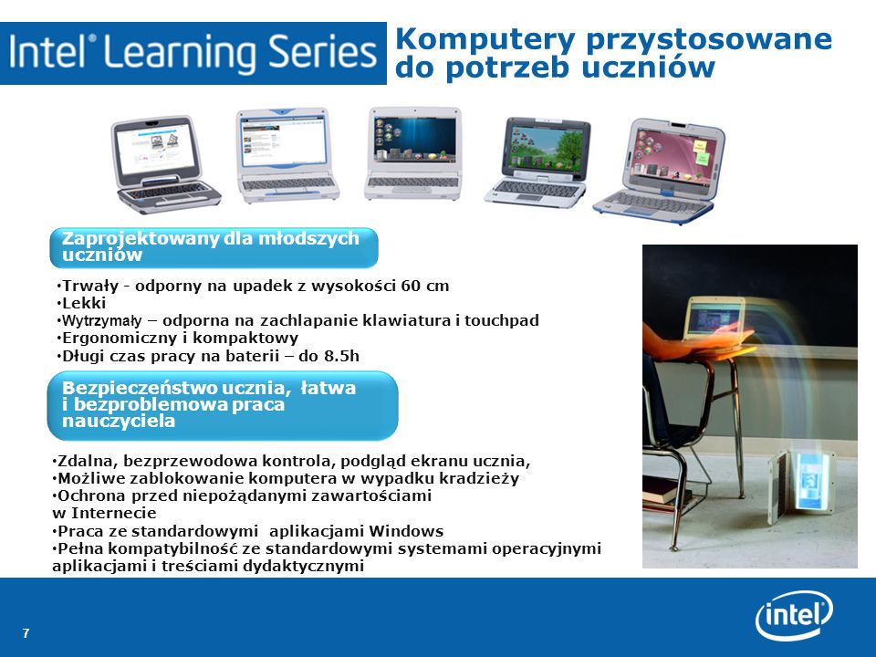 Komputery przystosowane do potrzeb uczniów