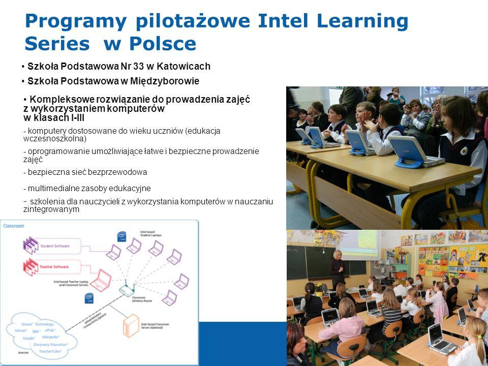 Programy pilotażowe Intel Learning Series w Polsce