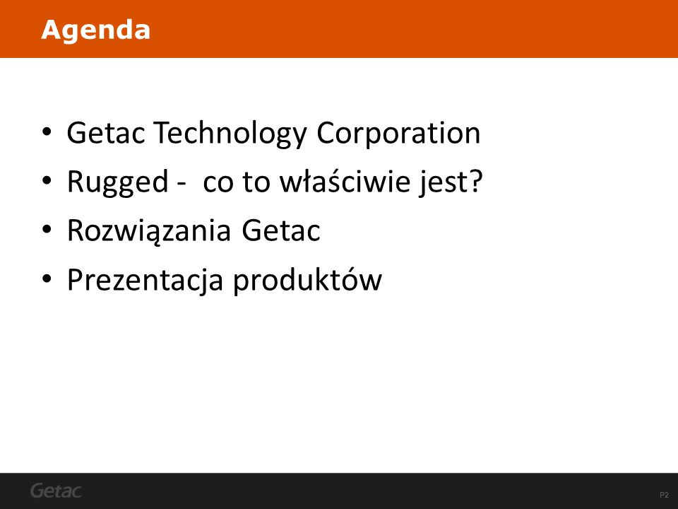 Getac Technology Corporation Rugged - co to właściwie jest