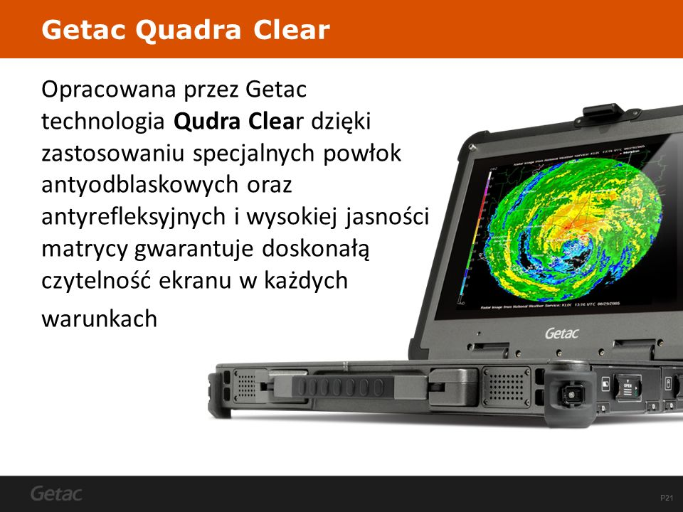 Getac Quadra Clear
