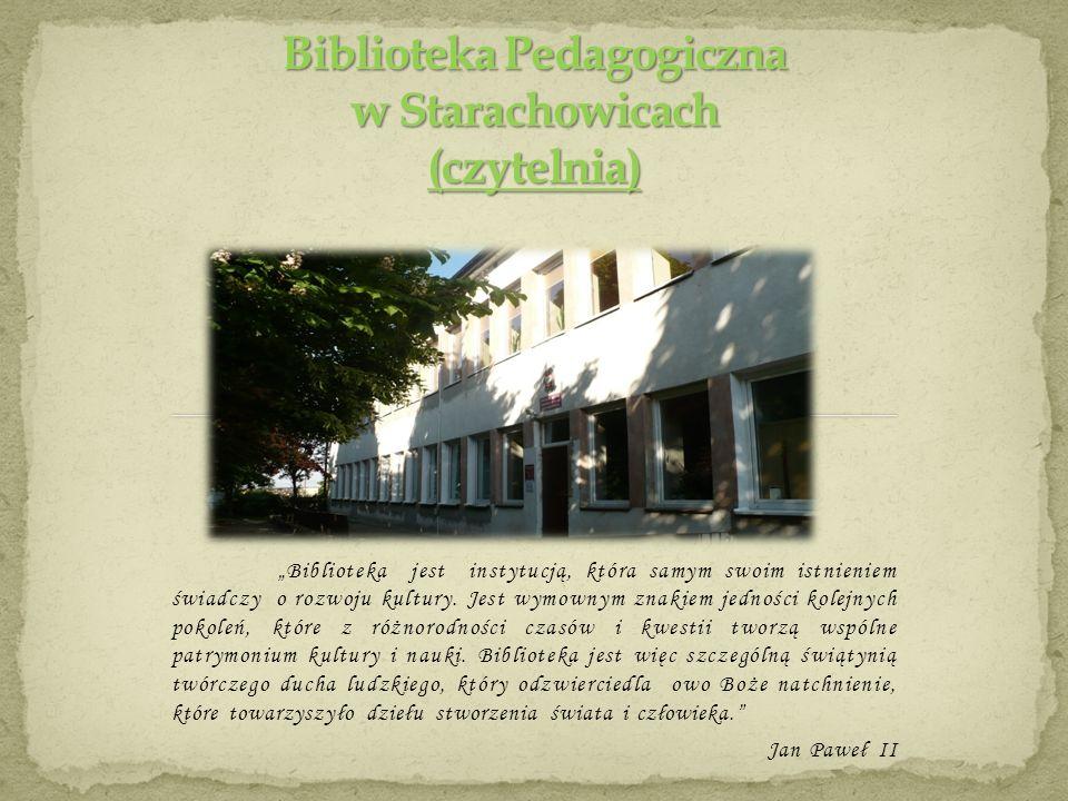 Biblioteka Pedagogiczna w Starachowicach (czytelnia)