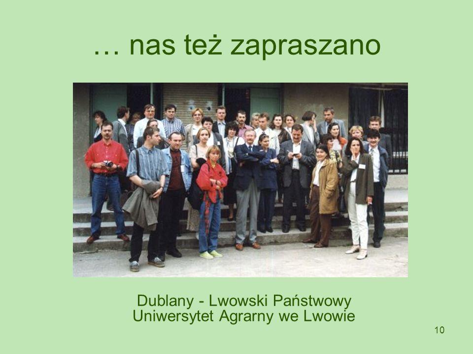 Dublany - Lwowski Państwowy Uniwersytet Agrarny we Lwowie