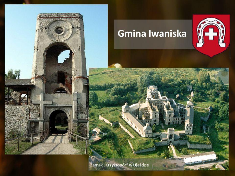 """Gmina Iwaniska Zamek """"Krzyżtopór w Ujeździe"""