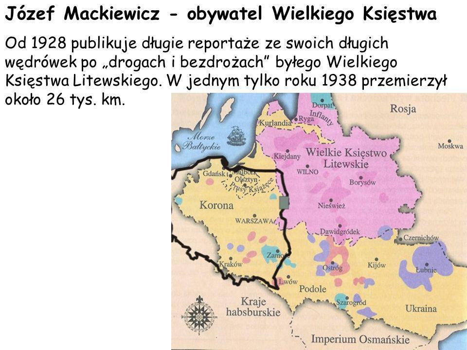 Józef Mackiewicz - obywatel Wielkiego Księstwa