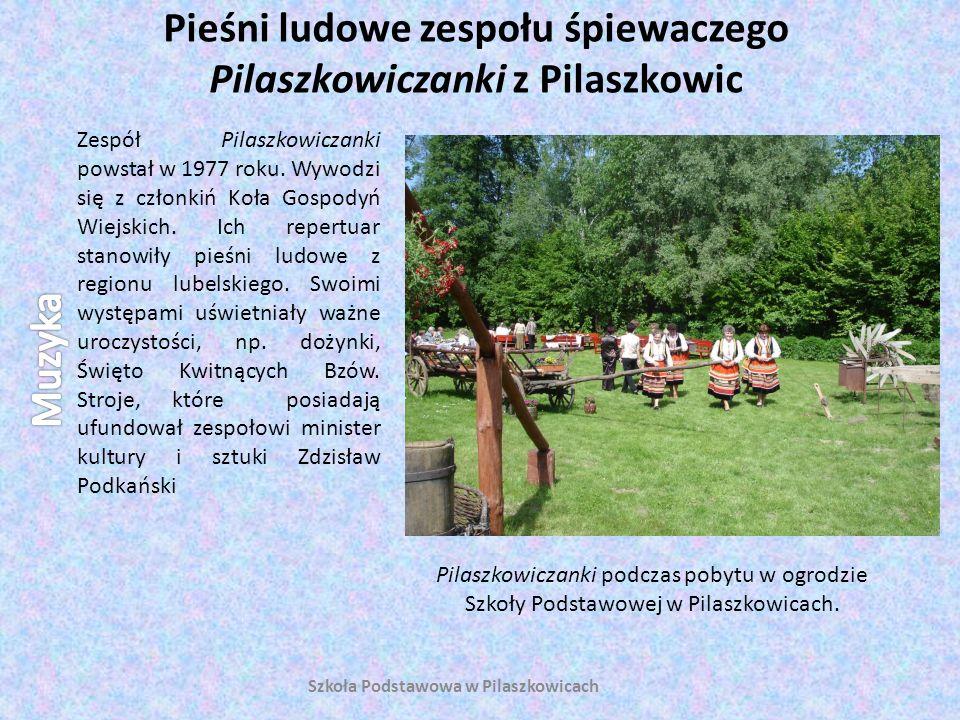 Pieśni ludowe zespołu śpiewaczego Pilaszkowiczanki z Pilaszkowic