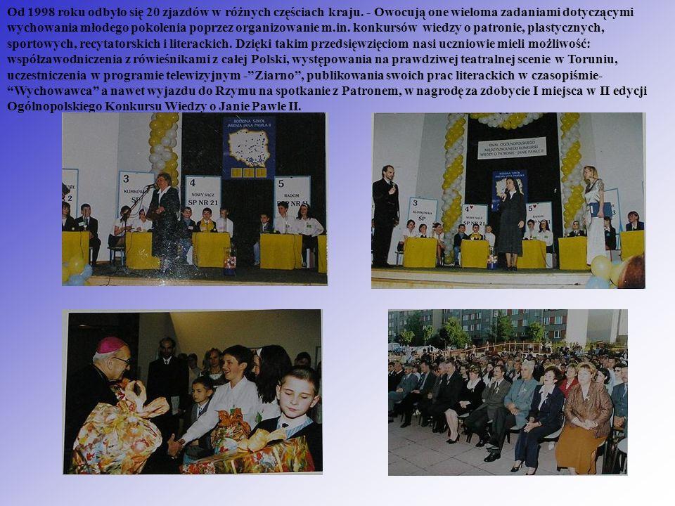 Od 1998 roku odbyło się 20 zjazdów w różnych częściach kraju