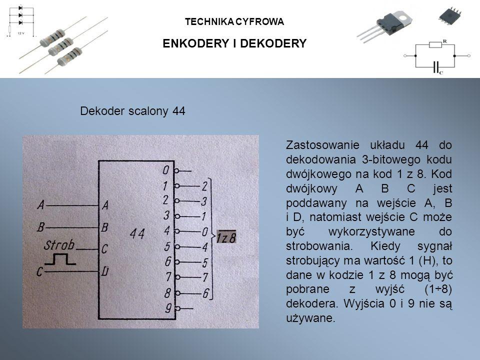 ENKODERY I DEKODERY Dekoder scalony 44