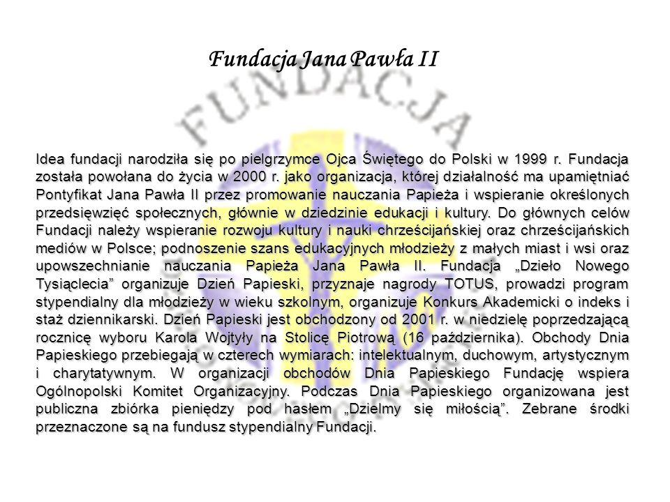 Fundacja Jana Pawła II