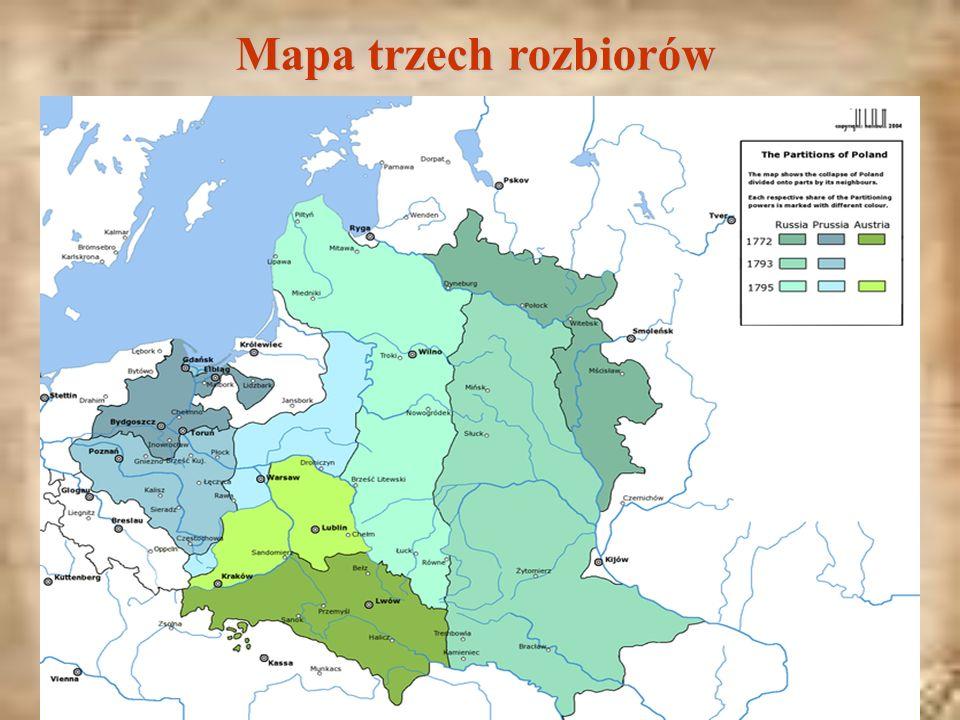 Mapa trzech rozbiorów