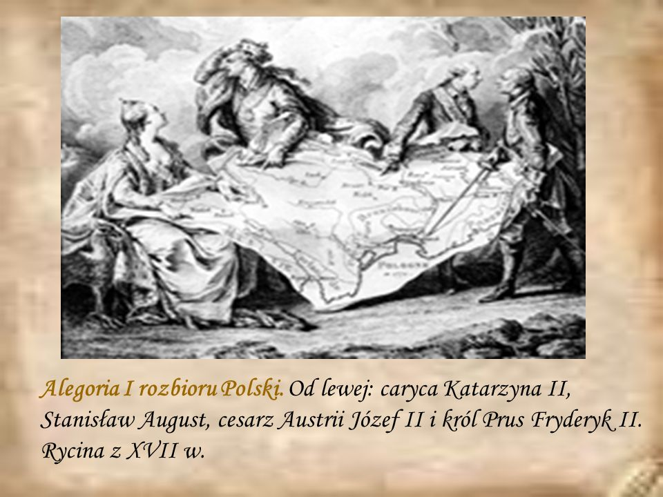 Alegoria I rozbioru Polski
