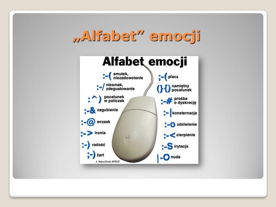 """Alfabet emocji"