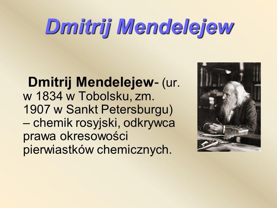 Dmitrij Mendelejew