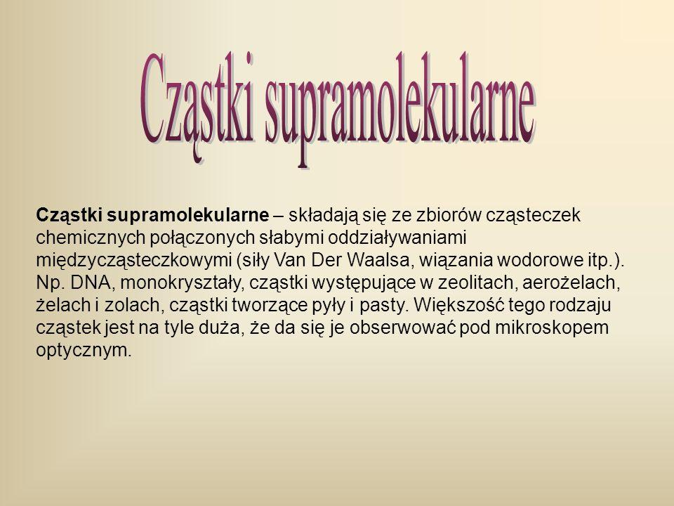 Cząstki supramolekularne