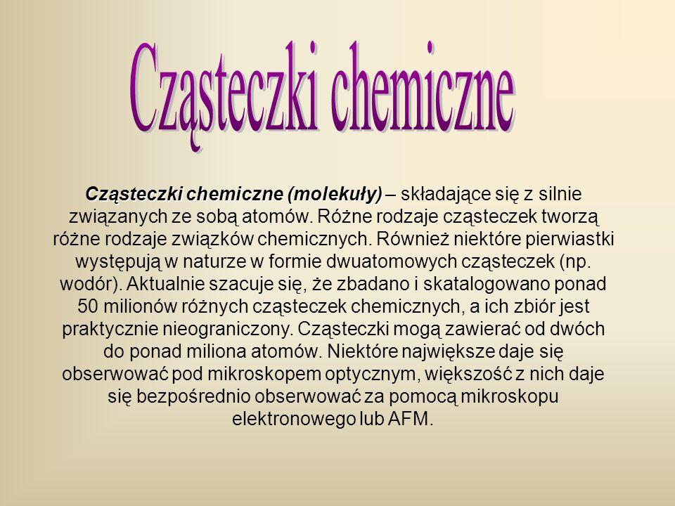 Cząsteczki chemiczne
