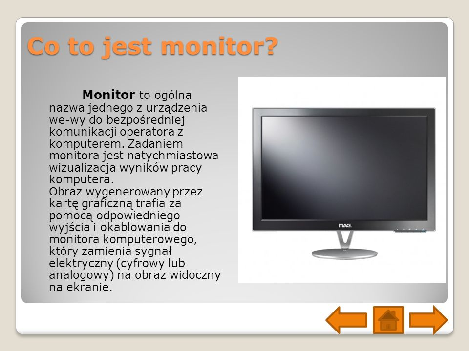 Co to jest monitor