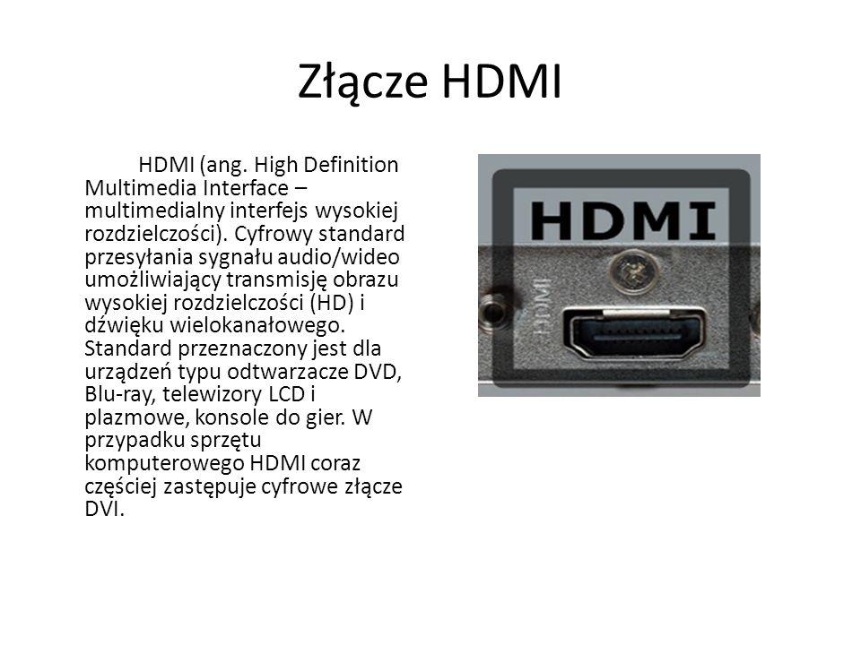 Złącze HDMI