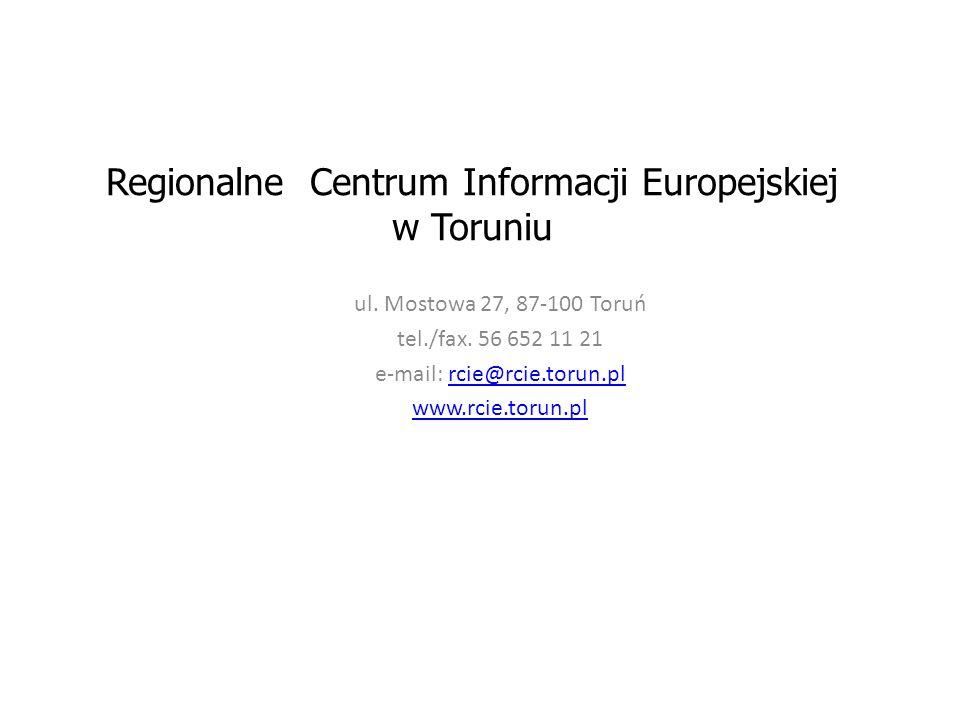 Regionalne Centrum Informacji Europejskiej w Toruniu