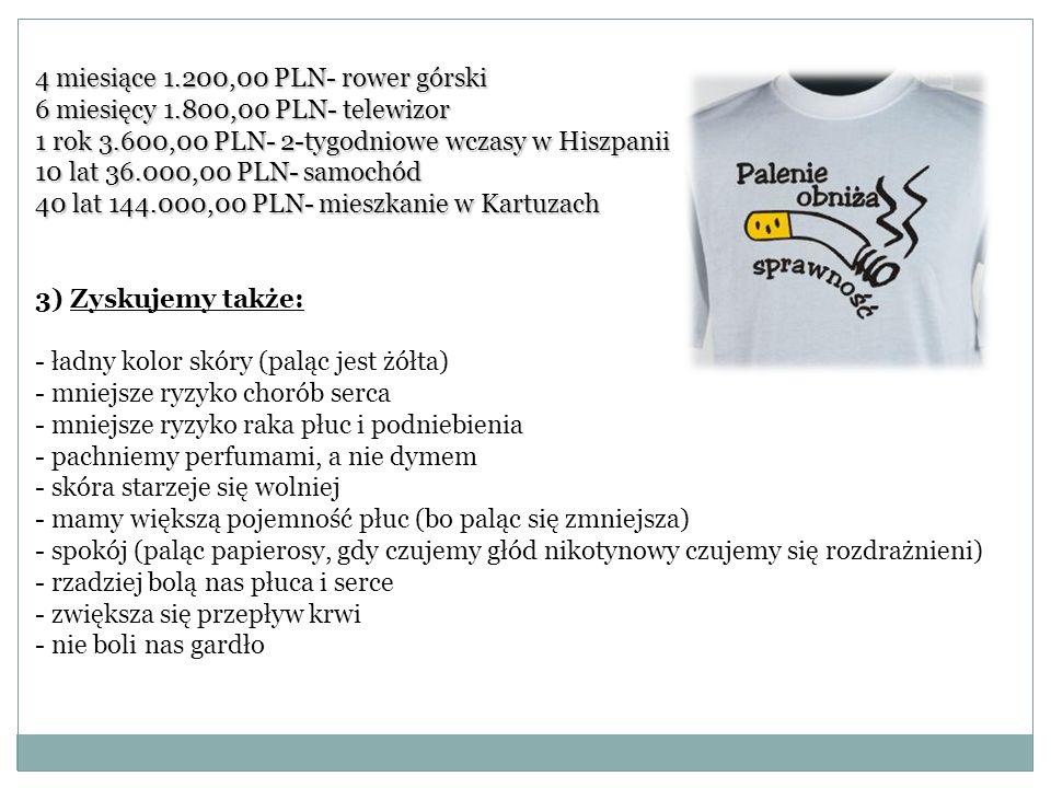 4 miesiące 1.200,00 PLN- rower górski