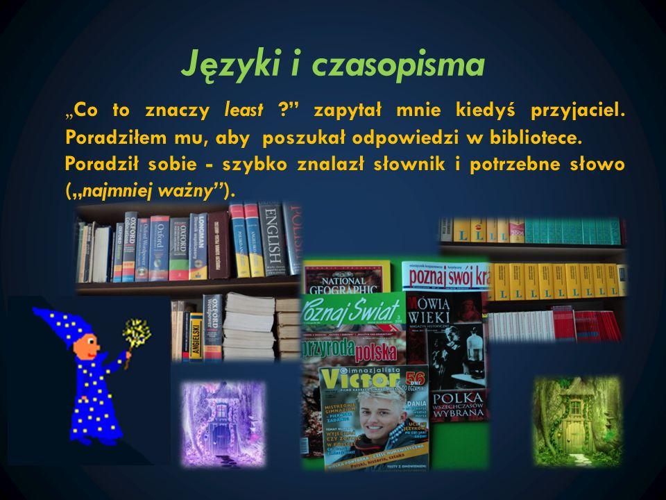 Języki i czasopisma